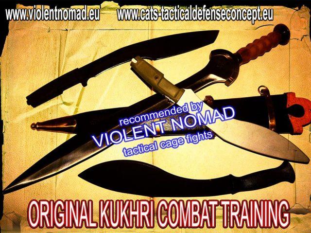 CATS Kukhri training
